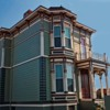 Victorian house: Beautiful old Victorian house.