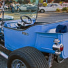 baby blue classic Ford convertible