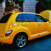 Yellow PT Cruiser