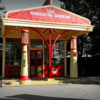 very old gas station